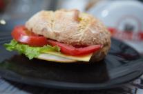 Mini sandwich γαλοπούλα